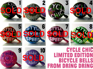 Image of Cycle Chic Bicycle Bells - Limited Edition