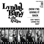 "Image of Lyndal Barry and The Apollos - (Now I'm) Giving It Back 7"" - Free Shipping across Aust"