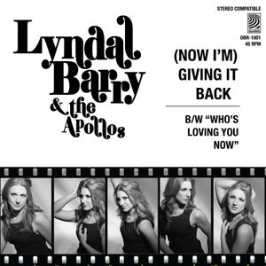 """Image of Lyndal Barry and The Apollos - (Now I'm) Giving It Back 7"""" - Free Shipping across Aust"""
