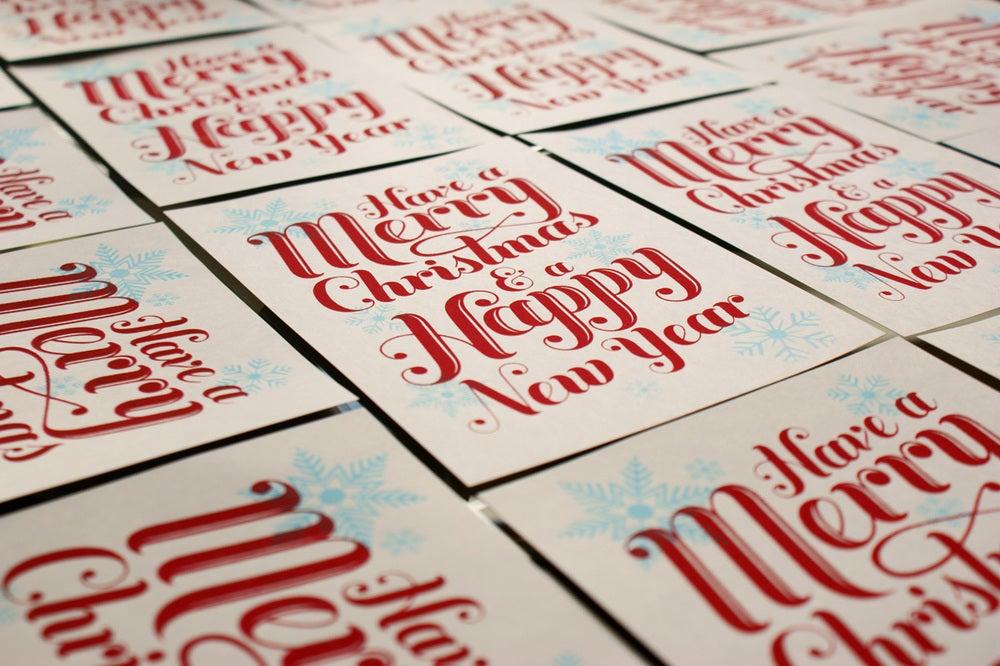 Image of Holiday Postcard Print