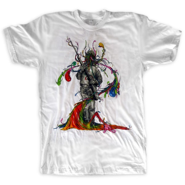 Image of Father Killer White | by Alex Pardee | T Shirt