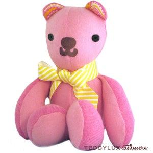 Image of teddylux cashmere bear - girl