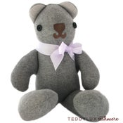 Image of teddylux cashmere bear - neutral