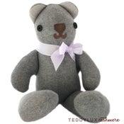 Image of teddylux cashmere bear - neutral