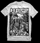 Image of Zombie 50's throw-back shirt