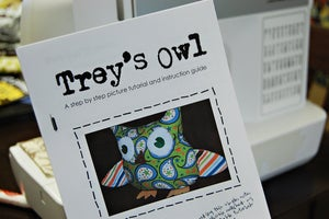 Image of Trey's Owl EPattern & Tutorial BOOKLET