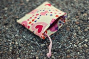 Image of Hearts | Mouth Guard Pouch