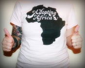 Image of Adopting Africa Womens Tee - Soft Pink
