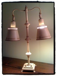 Image of Vintage Metal Reading Lamp
