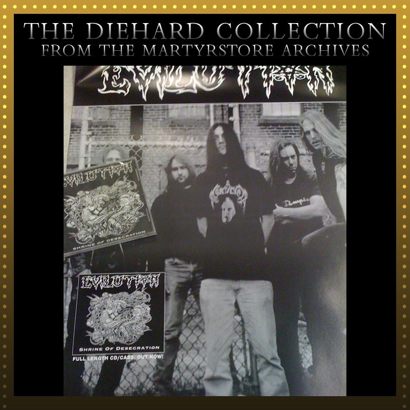 Image of EVILUTION (Brutal Death Metal) CD or Cassette