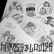 "Image of Set Flash Chicano ""HOMIES&LADIES"""