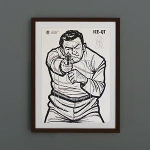 Image of Thug Targetry Poster