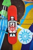 Image of Robot Skateboard- RED