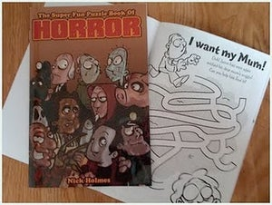 Image of The Super Fun Puzzle Book of Horror