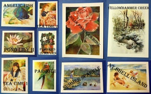 Image of Watercolor Print Notecards