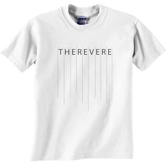 Image of The Revere Tee | Lines (White)