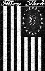 Image of Ellery Park Black Flag T-Shirt