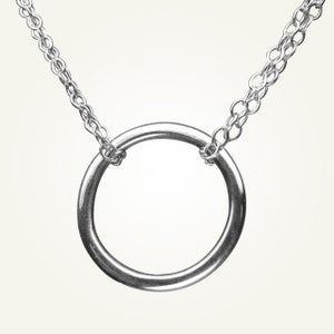 Image of Orbit Necklace, Sterling Silver