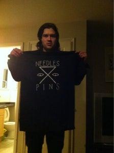 Image of NEEDLES//PINS T-SHIRT