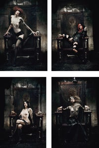 Image of THE THRONE Postcard Set