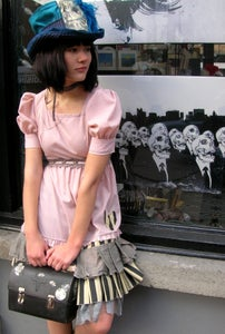 Image of grunge lolita dress