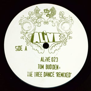 "Image of ALiVE023 / Tom Budden / The Tree Dance 'Remixed' / (Milton Jackson / Acumen Remixes) (12"" Vinyl)"