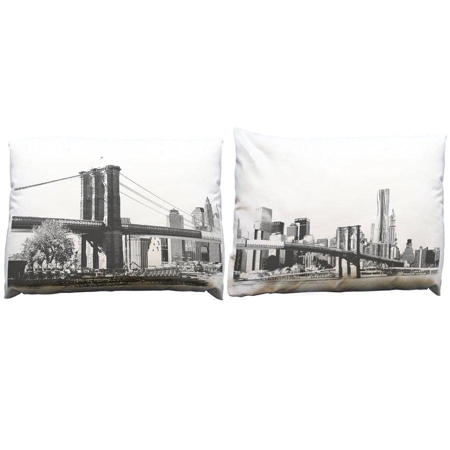 Image of Brooklyn Bridge Pillowcase Set