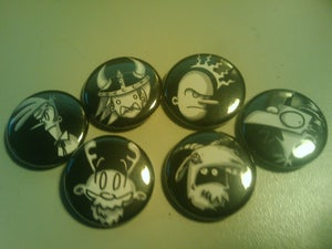 Image of Button Set Fall '09 - Set of Six