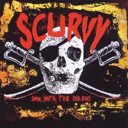 """Image of Scurvy """"Swim With The Sharks"""" CD ep"""
