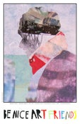 """Image of Brandon Friend- """"Precipice (detail)"""" BE NICE ART STORE Exclusive Poster"""