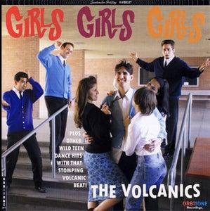 Image of The Volcanics - Girls Girls Girls - CD