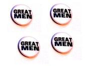 Image of Great Men - Badge