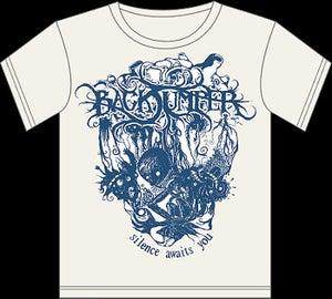 "Image of T Shirt ""Silence Awaits You"""