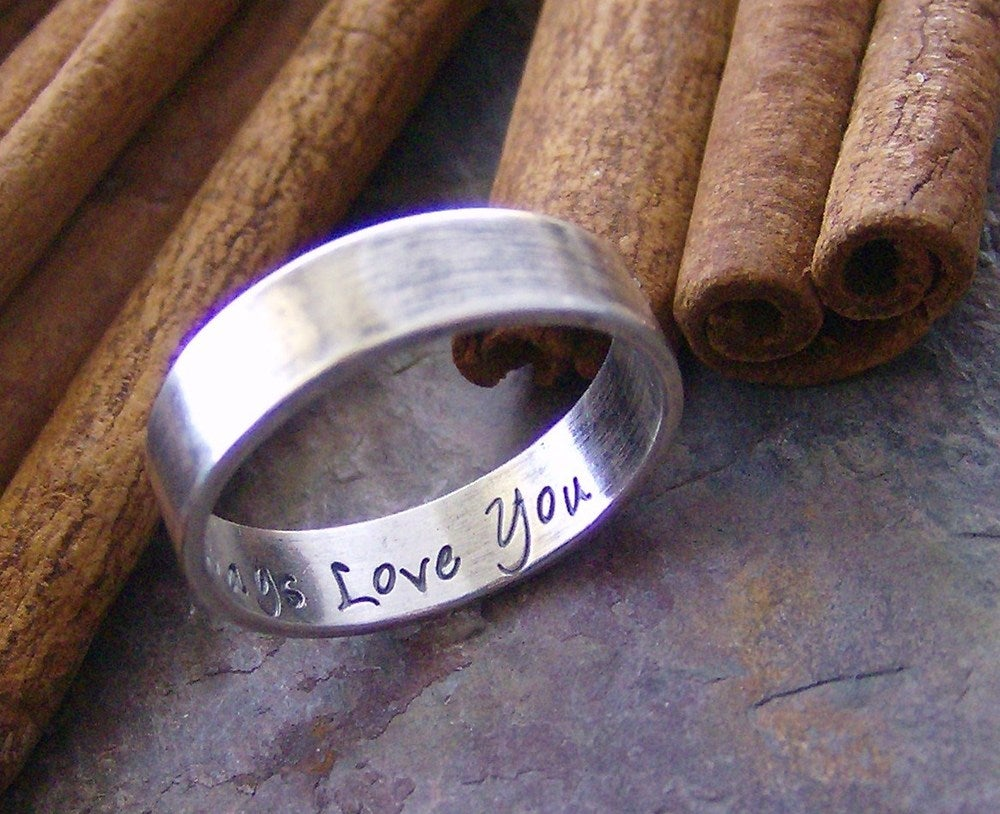Image of secret message ring