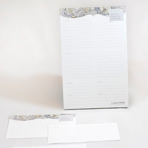 Image of The Muti-Store Shopping List Notepad