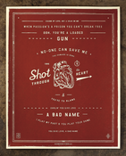 Image of Shot Through the Heart - SOLD OUT