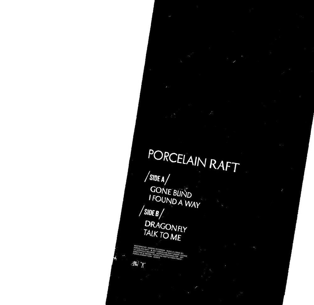 Image of ACE016 - Porcelain Raft - Gone Blind EP