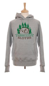 Image of Sloths University Mens Hoody (Grey)