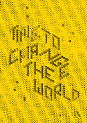 Image of Time To Change The World A5 Print