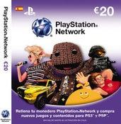 Image of TARJETA 20€ PSN PS3 PS4 PSP PS VITA