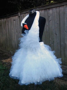 Image of Swan Party Dress