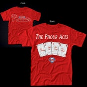 Image of The Phour Aces Phillies 2011 Tshirt!! IN STOCK NOW