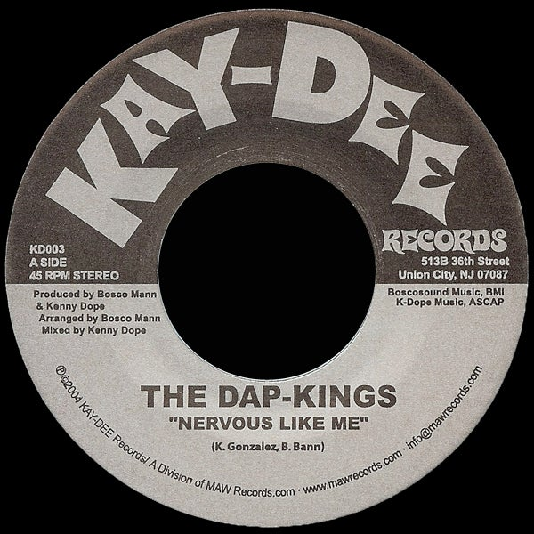 Image of KD003-THE DAP KINGS