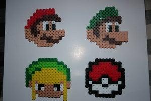 Image of Nintendo Character Pins
