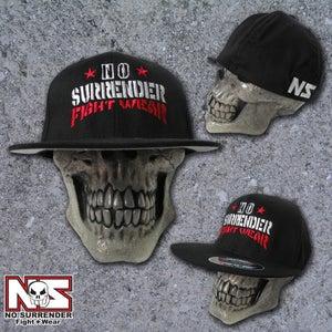 Image of Flat Bill No Surrender Fight Wear Hat