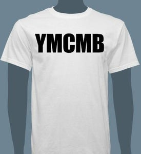 Image of YMCMB T-Shirt Black/White S-XL