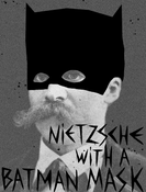 Image of Nietzsche as Batman by Christophe Lambert