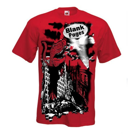Image of Red Dinosaur T-Shirt