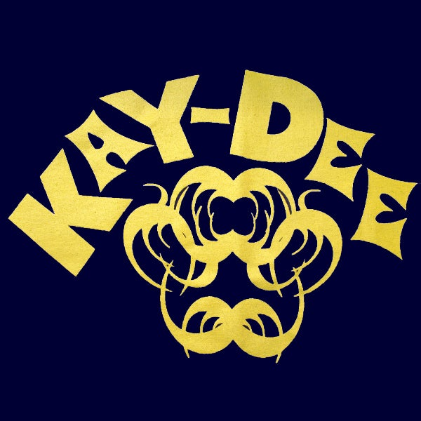 Image of KAYDEE - YELLOW ON NAVY