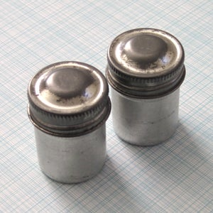 Image of Aluminum Film Canisters from the 1970s